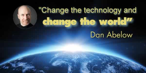 Change the technology and change the world
