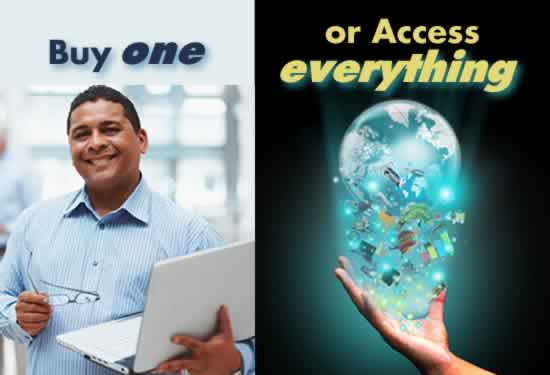 Buy One or Access Everything