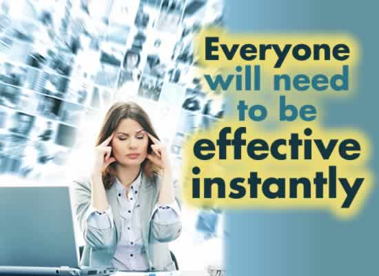 Get Future Ready and become effective instantly